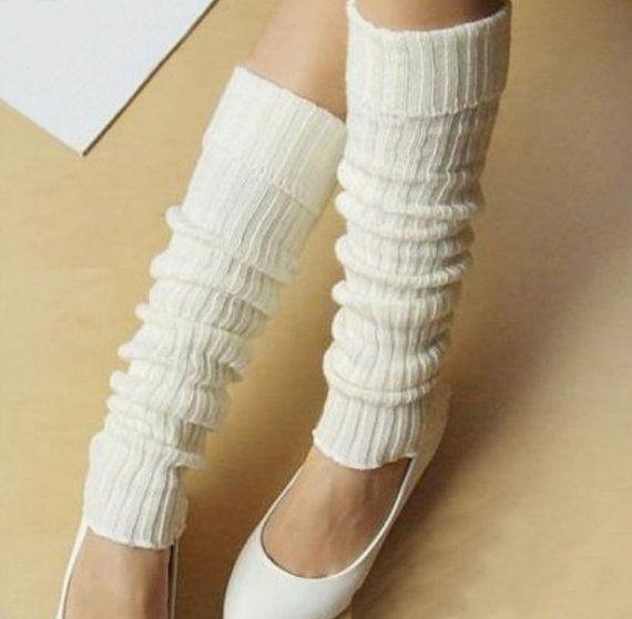 Knitting Pattern For Leg Socks : Handmade knitted Long knitting sock / Leg warmers / Leg ...