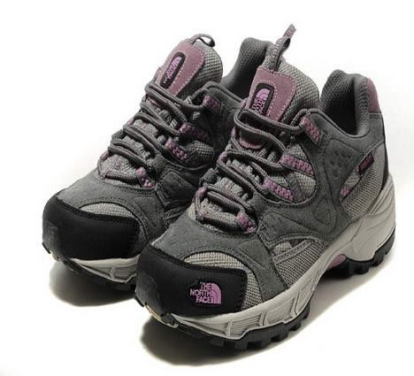 Womens The North Face Hiking Shoes Gray
