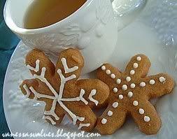 Butterscotch Gingerbread Cookies | Gingerbread | Pinterest