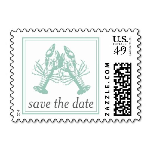 Lobster bib invitation. Cute idea for save the date or rehearsal