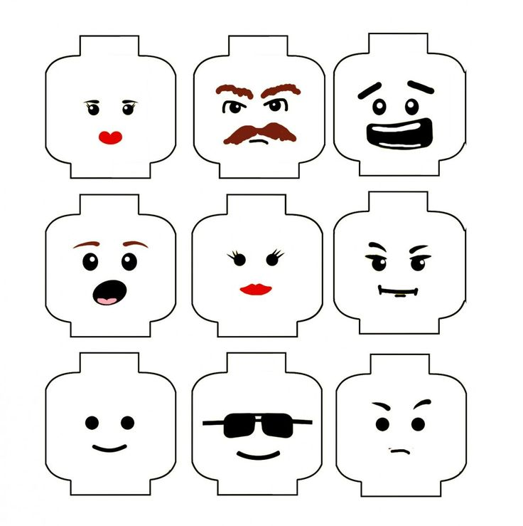 Lego Head Decal Template lego template related keywords & suggestions ... Zombie Head Stencil