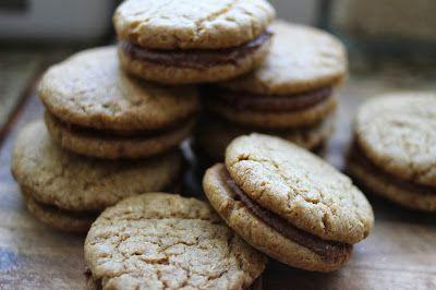 Maiah Miller: Running Girl Bakes: Hazelnut Sandwich Cookies