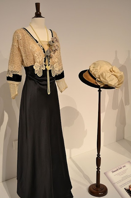 """Emma Thompson's costume in """"Howards End"""" [1st of two pins]"""