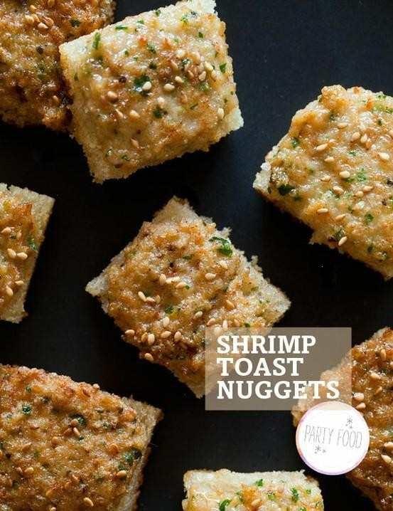 SHRIMP TOAST | FOOD: APPETIZING APPETIZERS | Pinterest