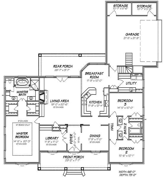 Floor plans great room
