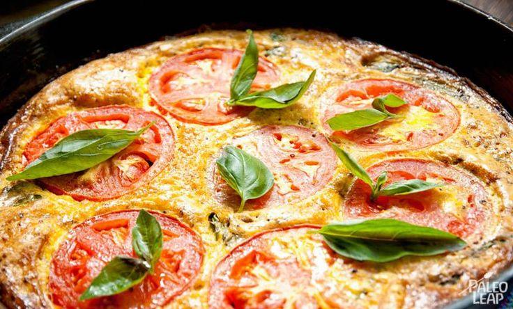 Tomato Basil Frittata | Nosh: Paleo Cooking | Pinterest