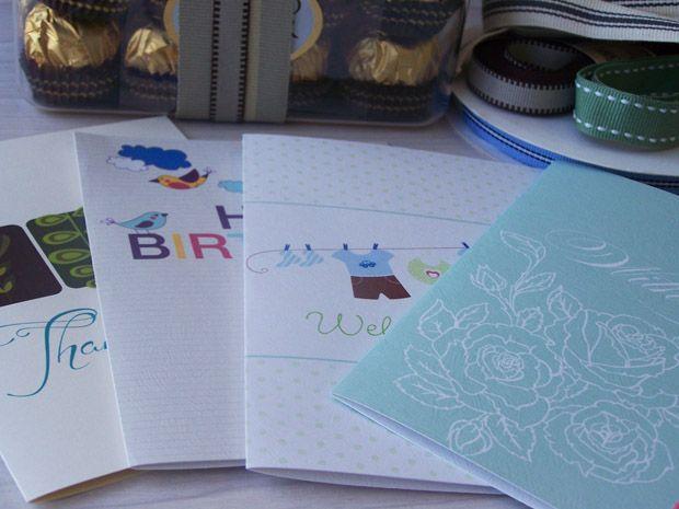 Free printable cards group set