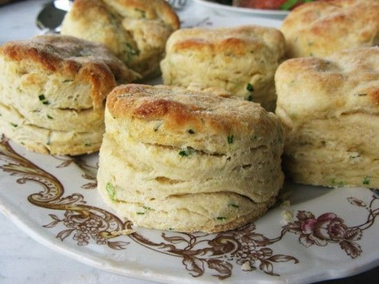 Buttermilk Chive Biscuits | Beekman1802.com | Breads | Pinterest