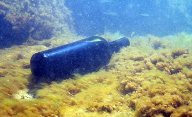 vino cavas submarinas: