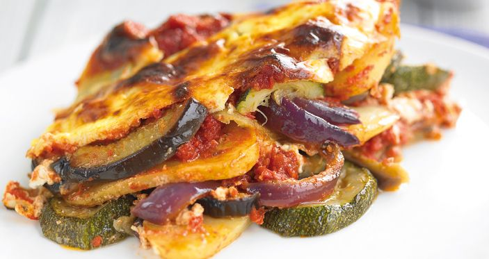 Vegetable Moussaka – Filippo Berio | food | Pinterest