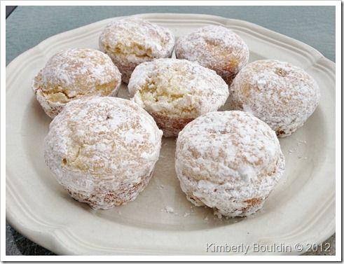 Powdered Sugar Doughnut Muffins | Everything I Enjoy | Pinterest