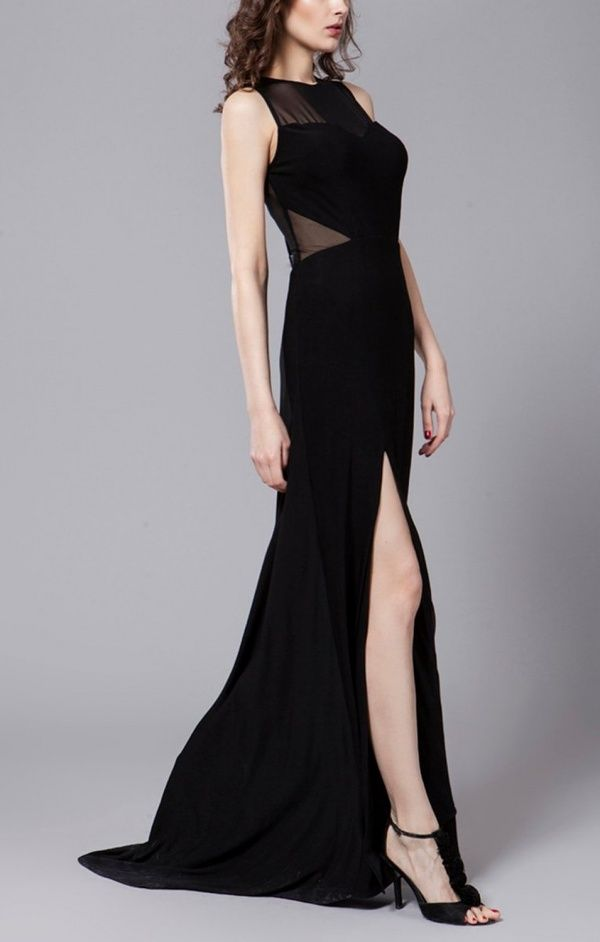Women's #Fashion Clothing: Dresses: Women's Sexy #Black Tulle Stretch