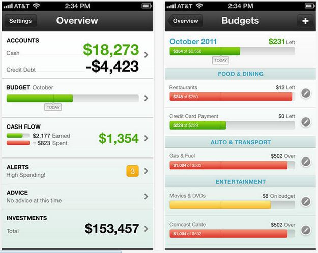 best finance tracking app ios