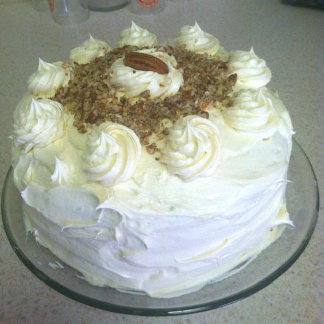 Banana Rum Cake with Cream Cheese icing | Desserts | Pinterest