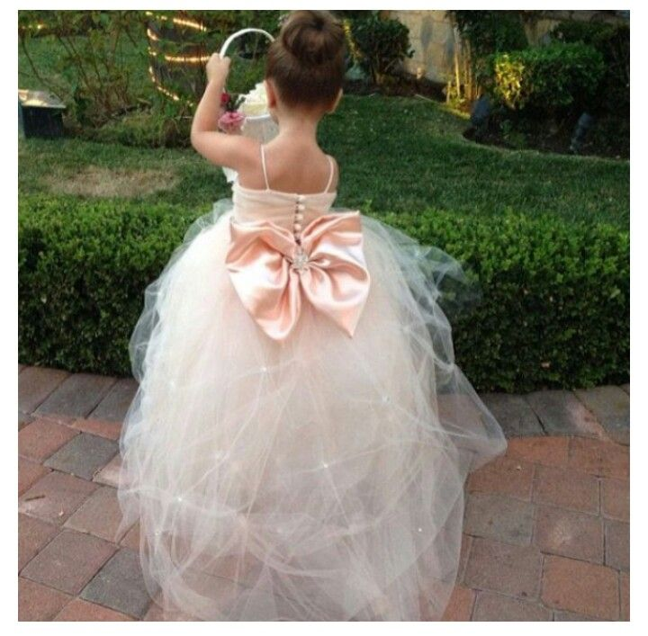 Tulle Flower Girl Dresses Tutorial 41