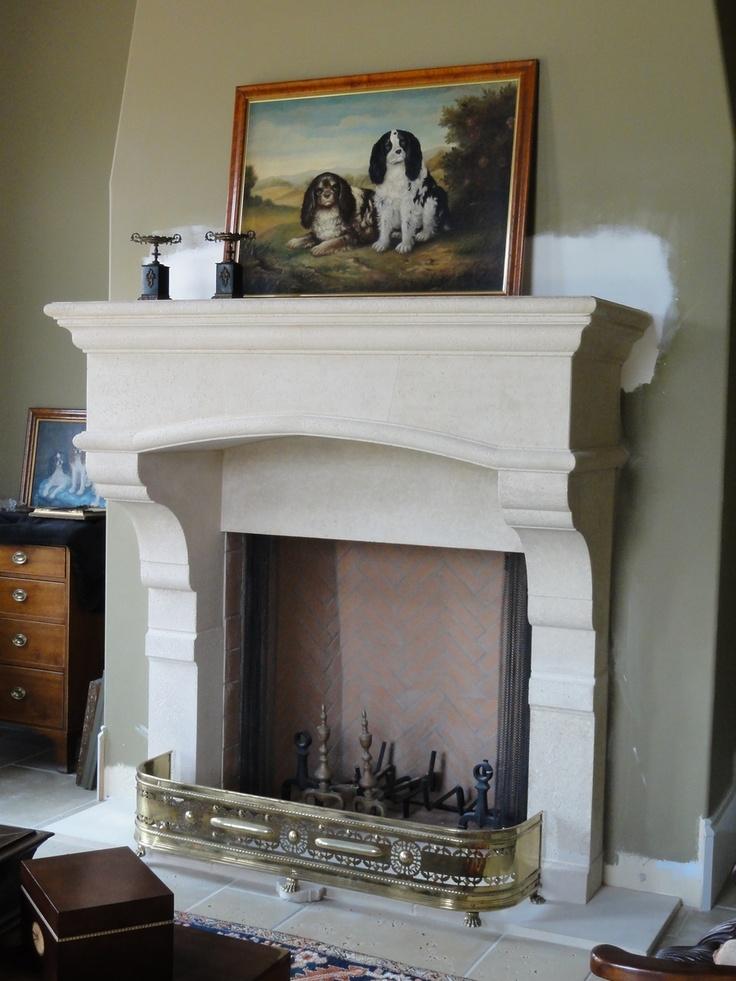Cast Stone Fireplace Mantels Hacienda Renovation Pinterest