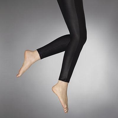 leatherette leggins khols