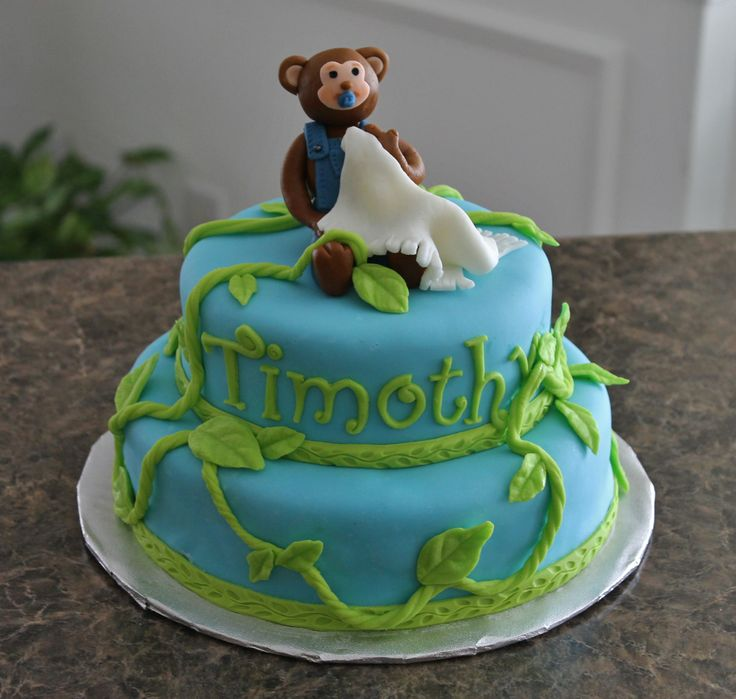 Living room decorating ideas monkey baby shower cakes pinterest - Baby shower monkey theme cakes ...