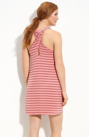 Nordstrom   Caslon® Cross Back Knit Dress - StyleSays