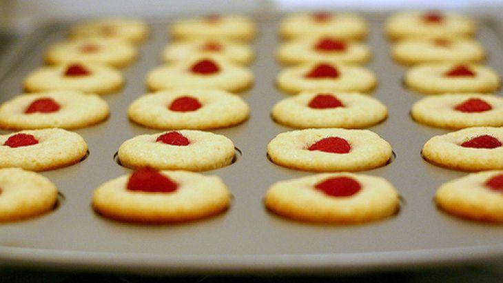 Raspberry-Topped Lemon Muffins II Recipe | Megalicious Muffins | Pint ...