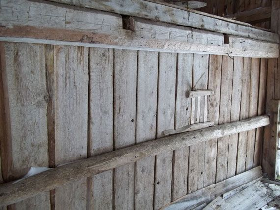 An Interior Wall In The Barn Wood Pinterest