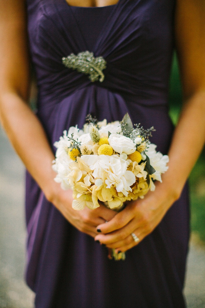 Wedding Flowers Long Island Dried Flower Bridesmaid Bouquet By Flores Del Sol On Style Me Pretty