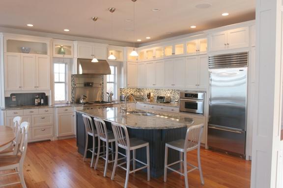 White Cabinets Stainless Cape Cod Kitchen Redo Pinterest