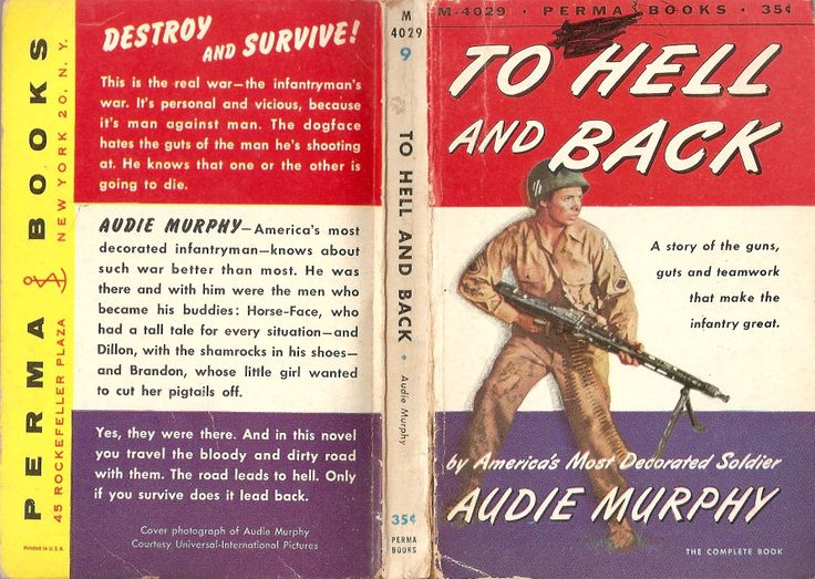 """audie murphy to hell and back Another newly-minted sabaton fan, eh (""""to hell and back"""" is my favorite sabaton song) i'm wondering why the heck amazon doesn't have it available for streaming."""