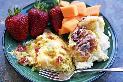 Cheesy Bacon Potato Frittata | recipes | Pinterest
