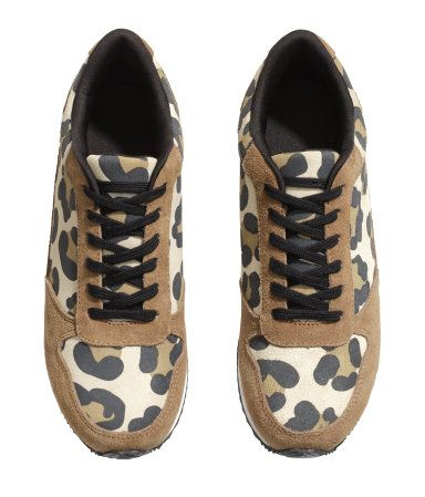 h m leopard print tennis shoes hers