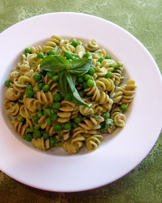 Creamy Fettuccine With Peas And Basil Recipes — Dishmaps