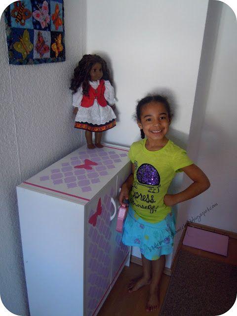 American Girl Doll Dresser