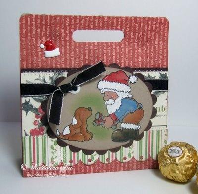 Small gift's bag - Tutorial - bjl