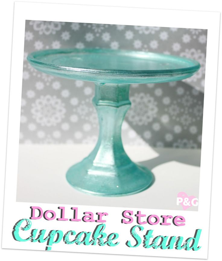 diy dollar store cupcake stand cake stands pinterest