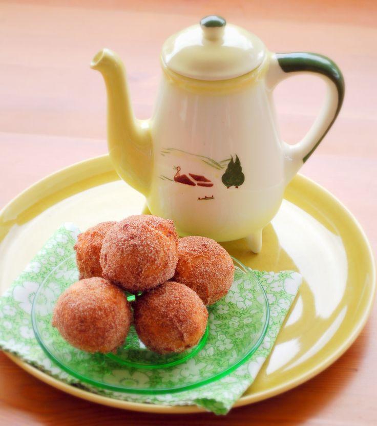 Happy Apple-Cinnamon Doughnut Holes | Gluten-Free/Dairy-Free Recipes ...