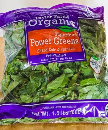 Kalyn's Kitchen®: Power Greens Salad with Blueberries and Almonds ...