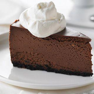 Chocolate Fudge Truffle Cheesecake Recipe #48 | Milk Every Moment