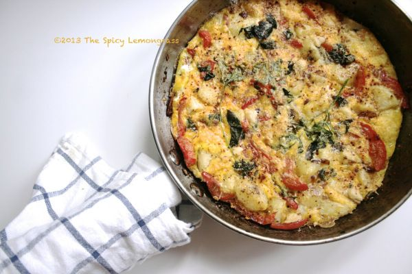 Goat Cheese and Basil Frittata | The Most Important Meal of the Day ...
