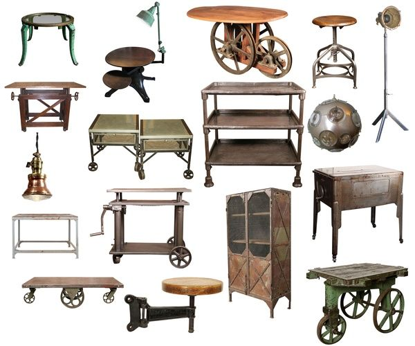 steampunk industrial furniture skm pinterest