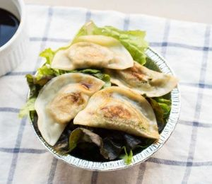 Tofu and Kale Potstickers! - Finding Vegan