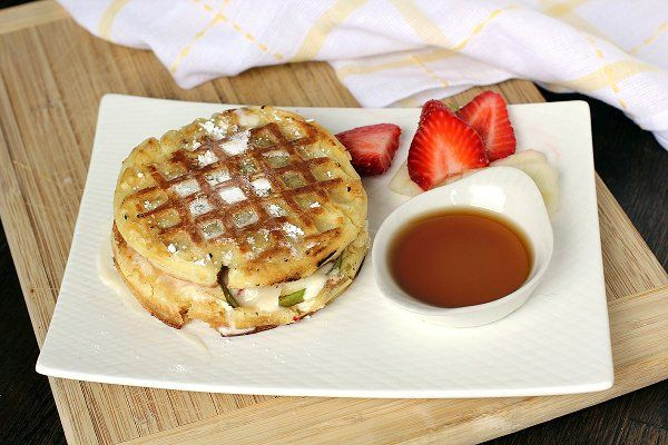 grilled cheese sandwich This sandwich features mascarpone cheese ...