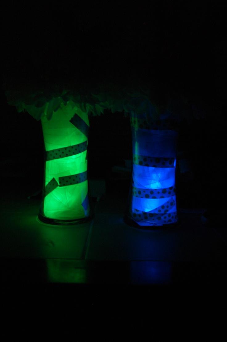 Glow Stick Centerpieces Www Imgkid Com The Image Kid Wedding Jar
