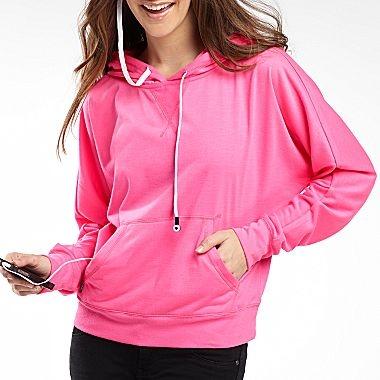 Dolman Sleeve Hoodie Buddie - jcpenney Cute pullover hoodie :-) $13