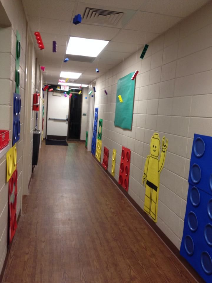 Love this hallway wow vbs www cokesburyvbs com