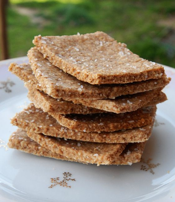 Oat Crackers | The Luck of the Irish | Pinterest