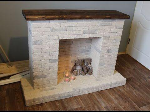 Как построить декоративный камин в доме своими руками пошаговая инструкция 33