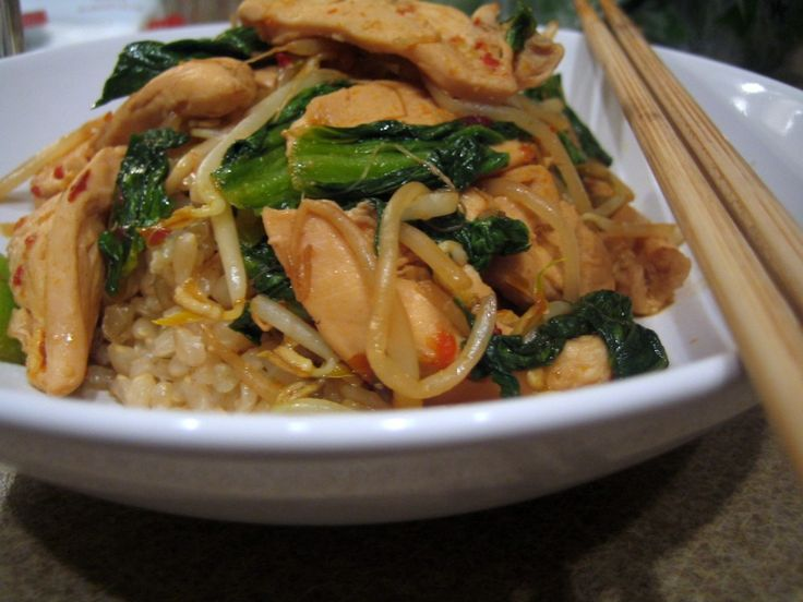 Sweet And Spicy Stir Fry With Chicken And Broccoli Recipe — Dishmaps
