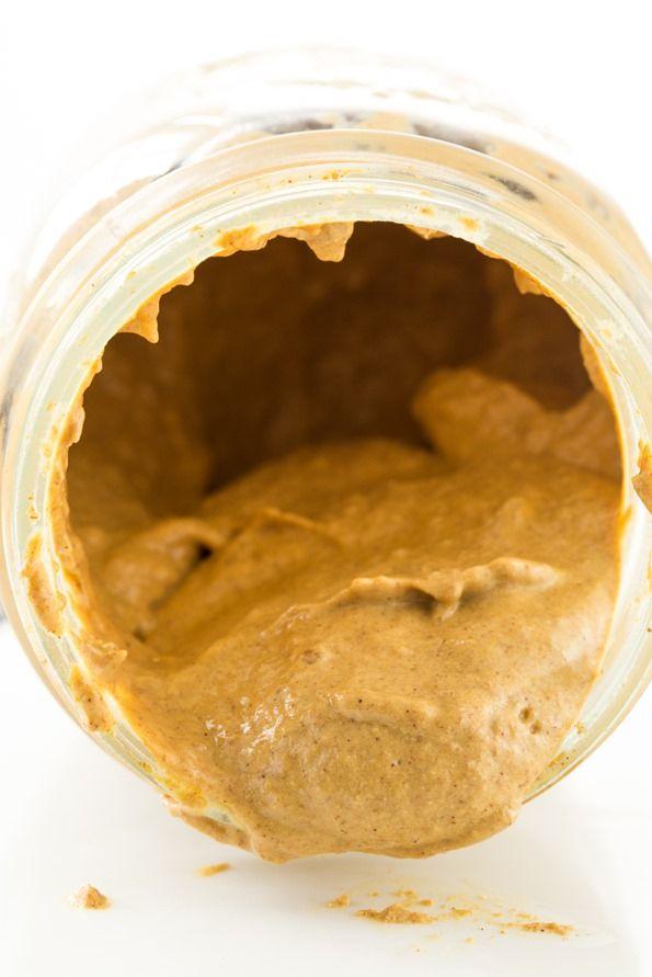 Lightened Up Raw Pecan Pumpkin Butter- Love the recipe, but love ...