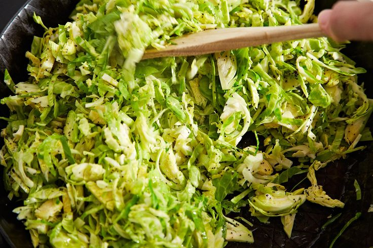 ... Café's Hashed Brussels Sprouts with Poppy Seeds and Lemon from Food52