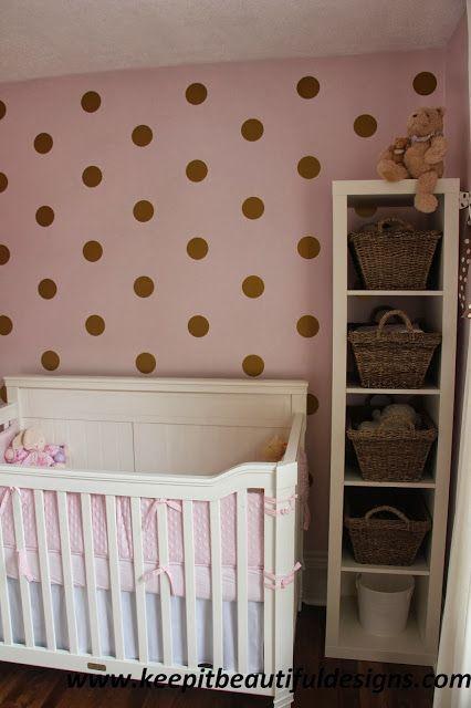 Baby girl nursery Keep it Beautiful Designs